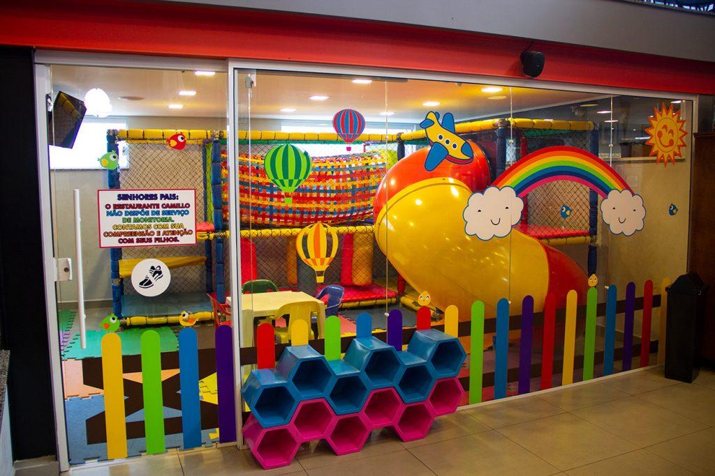 Espaço kids | Restaurante Camillo em Brotas